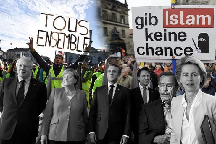 La politica dopo la crisi delle ideologie e la caduta dei corpi intermedi