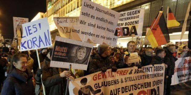 L'evoluzione di Pegida: dietro l'annullamento della marcia la nascita di un vero movimento politico